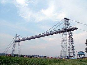 纽波特zh-hk:新港的运输铁桥