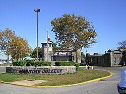 SUNY Maritime College north gate jeh.jpg