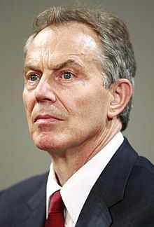 portrait photograph of a 56-year-old Blair