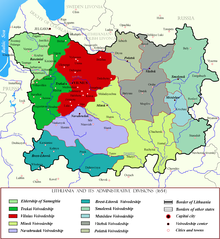 Vilnius Voivodeship within Lithuania in the 17th century.png