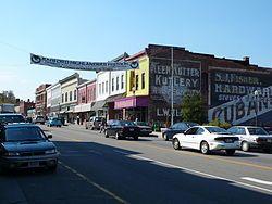 拉德福的一条主要街道