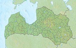 Riga is located in Latvia