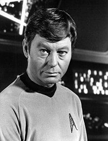 DeForest Kelley, Dr. McCoy, Star Trek.jpg