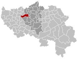 Grâce-Hollogne Liège Belgium Map.png