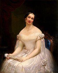 Portrait of Julia Gardiner Tyler