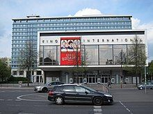 Shot of a Kino International cineplex in Berlin