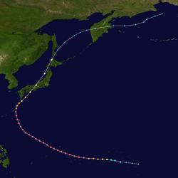 超强台风南施的路径图