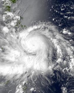 9月1日颱風艾克