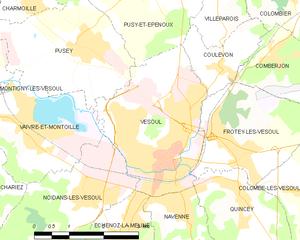 沃苏勒城区地图