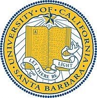 The seal of the University of California, Santa Barbara 1868