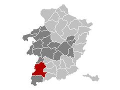 Sint-Truiden Limburg Belgium Map.png