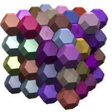 Truncated octahedra.jpg