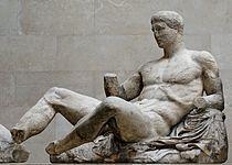 Dionysos pediment Parthenon BM.jpg
