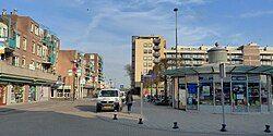 Town centre of Hoek van Holland.