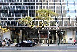 Pfizer World Headquarters Entrance.jpg