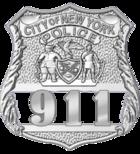 Patrol officer shield