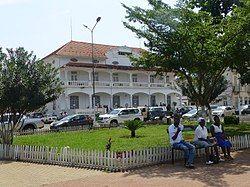 Independence Square, Downtown São Tomé