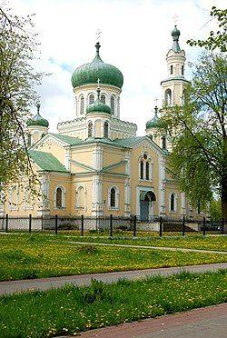 The Main church in Seminivka
