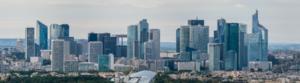 La Défense, seen from the Eiffel Tower