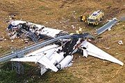 Wreckage of American Airlines Flight 1420