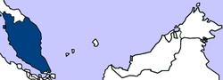 马来亚的位置