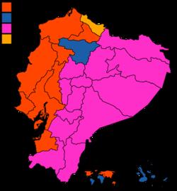 2021 Ecuadorian presidential election, first round.png