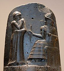 F0182 Louvre Code Hammourabi Bas-relief Sb8 rwk.jpg