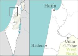 Tel Dor is located in Haifa region of Israel