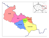 Districts of Moravia-Silesia