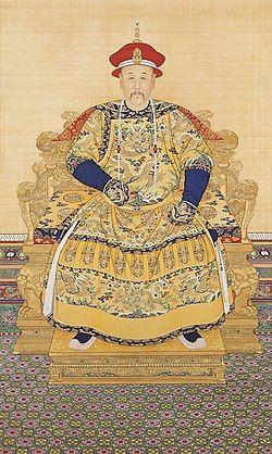 雍正皇帝像