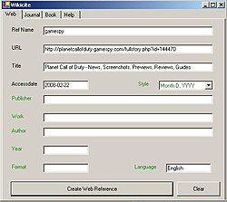 WikiCite ScreenShot.JPG