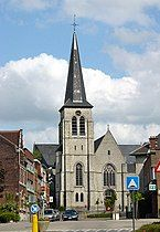 St. Gertrudis church in Machelen