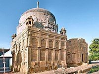 Tomb of Mir Tharo Talpur — the ruler of Mirpur Khas — in Chitorri Graveyard.jpg