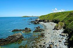 View from the Anglesey Coastal Path