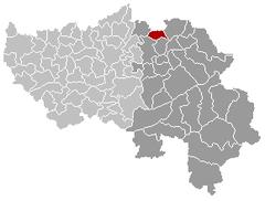 Aubel Liège Belgium Map.png