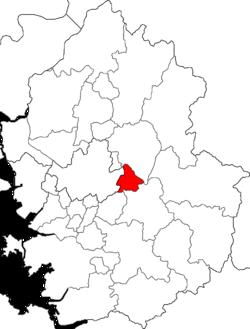 河南市在京畿道的位置图