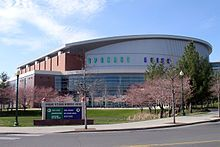 The Spokane Arena sports venue