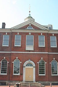 Image of two story brick building.