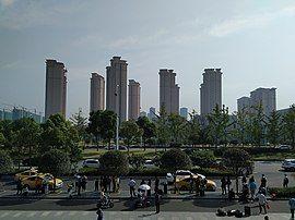 高淳地铁站对面的高层小区.jpg