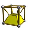 三角四角柱体柱