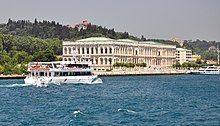 Çırağan Palace from the Bosphorus, Istanbul, Turkey 001.jpg
