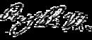Pius VII's signature