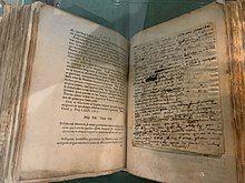 Newton's Annotated copy of his Principia Mathematica.jpg
