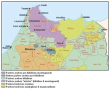 Nord du Maroc, carte ethno-linguistique.PNG