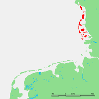 Location of 北弗里西亚群岛