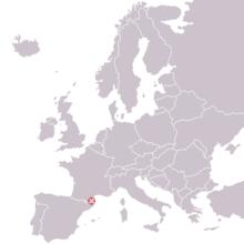 Tautavel, France; Homo erectus tautavelensis 1971 discovery map.png