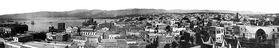 150pxThe city of Beirut, Lebanon, in the last third of the 19th century.