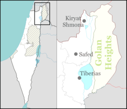Rabbi Bar-Yochai tomb is located in Northeast Israel