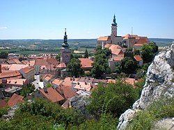 The town of Mikulov