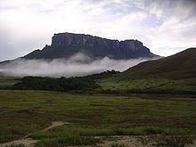 Mt Kukenan in Venezuela 001.JPG